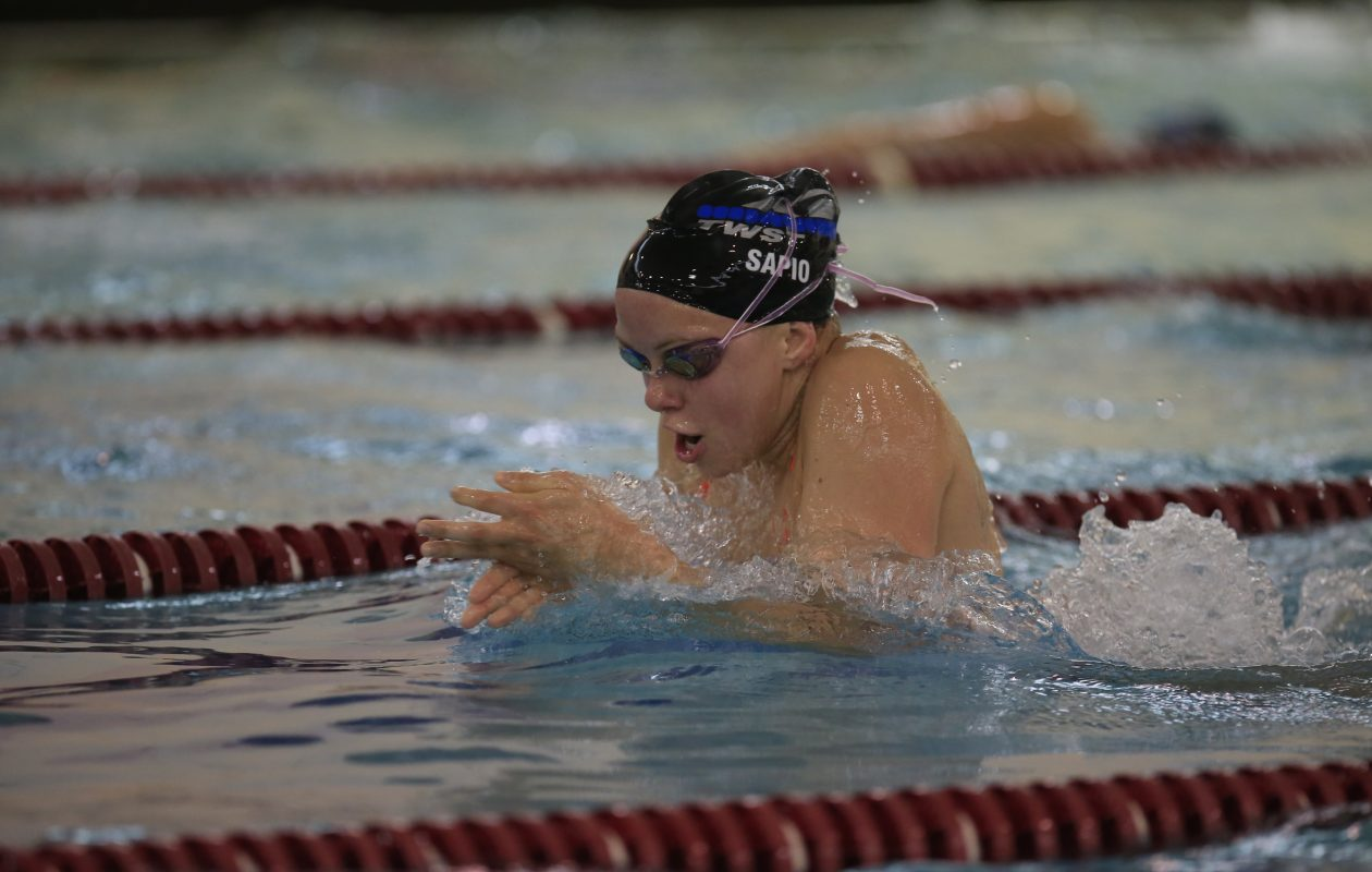 Past state meet qualifier Isabel Sapio returns for Orchard Park. (Harry Scull Jr./Buffalo News)