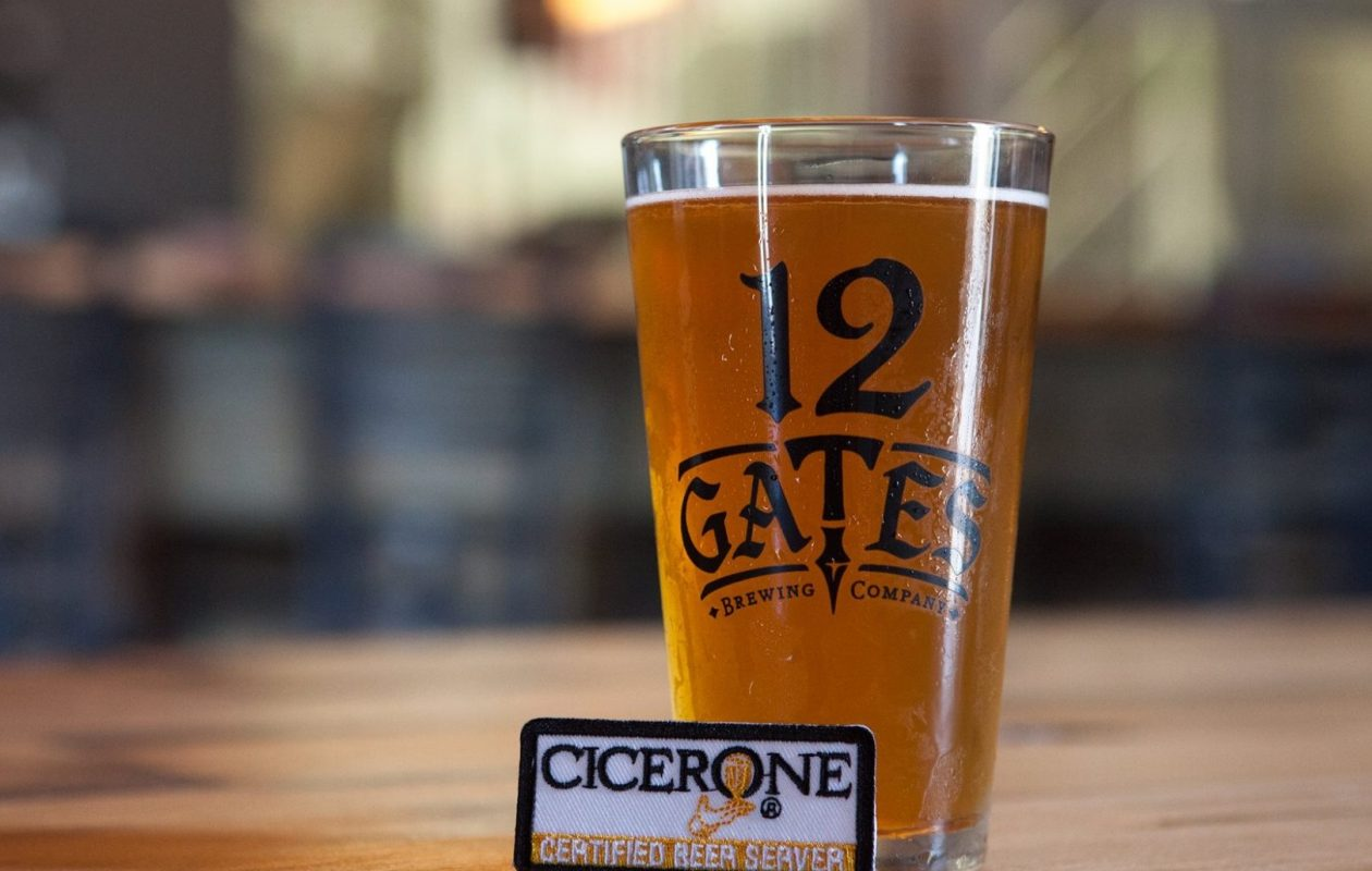 The staff at 12 Gates recently completed their Certified Beer Server certification from the Cicerone Program.