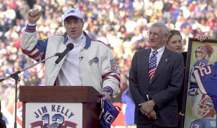 'You will forever be the man I look up to': Jim Kelly announces death of his father, Joe