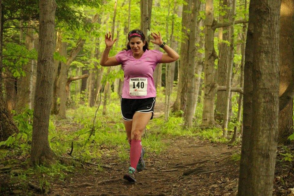 Amy Moritz is excited to take over the running column duties for The Buffalo News. (Photo courtesy of Sarah Anderson)