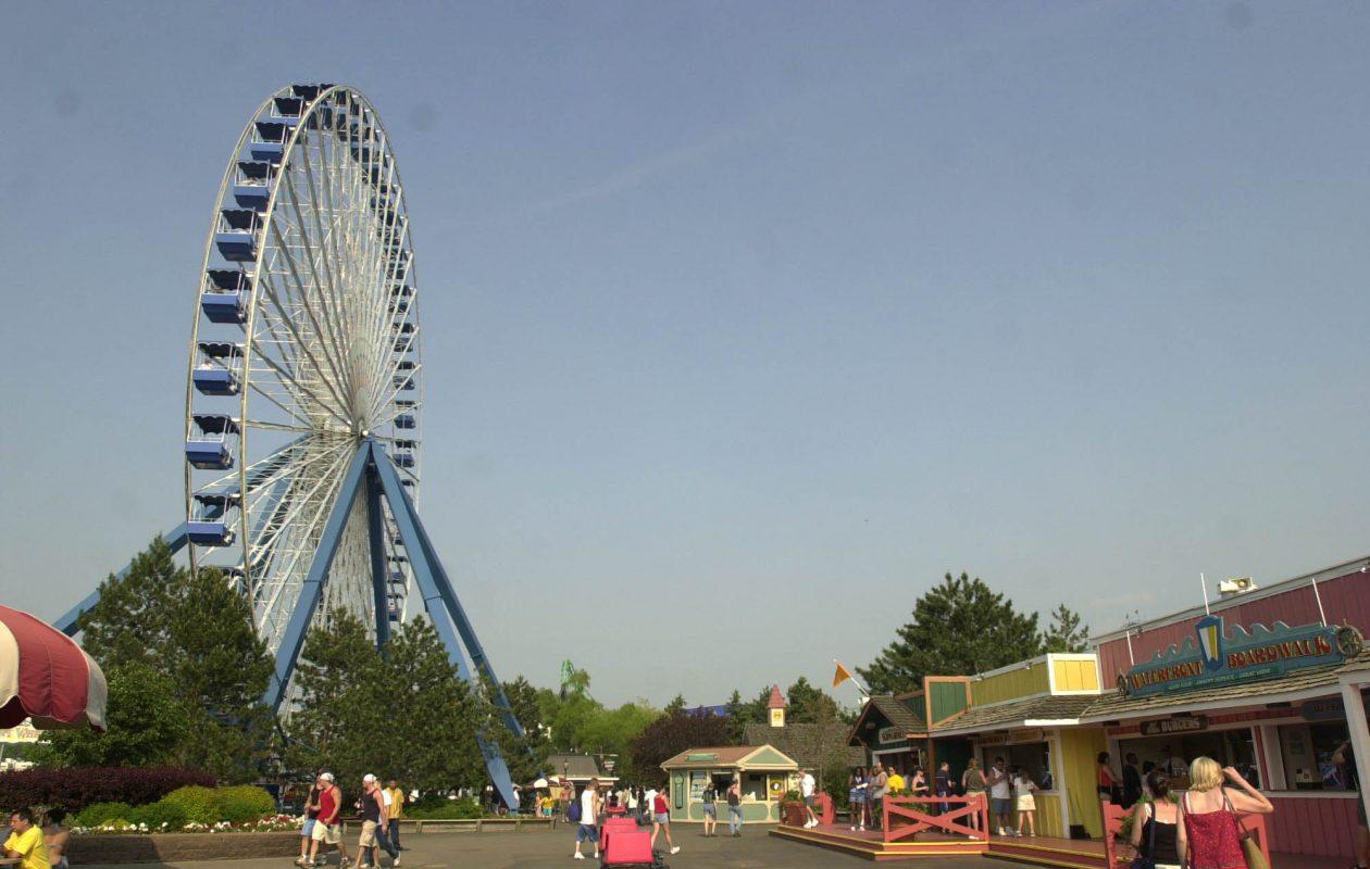 Darien Lake amusement park. (Mark Mulville/News file photo)