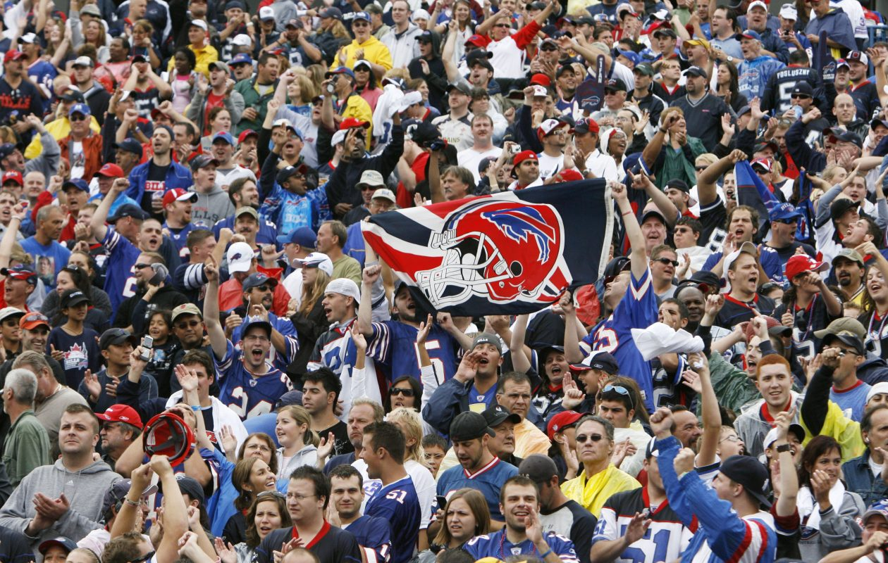 Buffalo Bills fans are never quiet on social media when it comes to signings and trades. (James P. McCoy/News file photo)