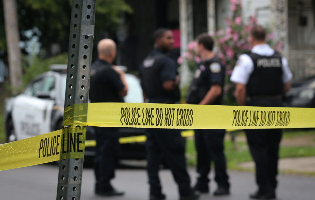 In 2016, shootings in Buffalo spiked to a rate of 115 per 100,000 residents. (Derek Gee/Buffalo News file photo)