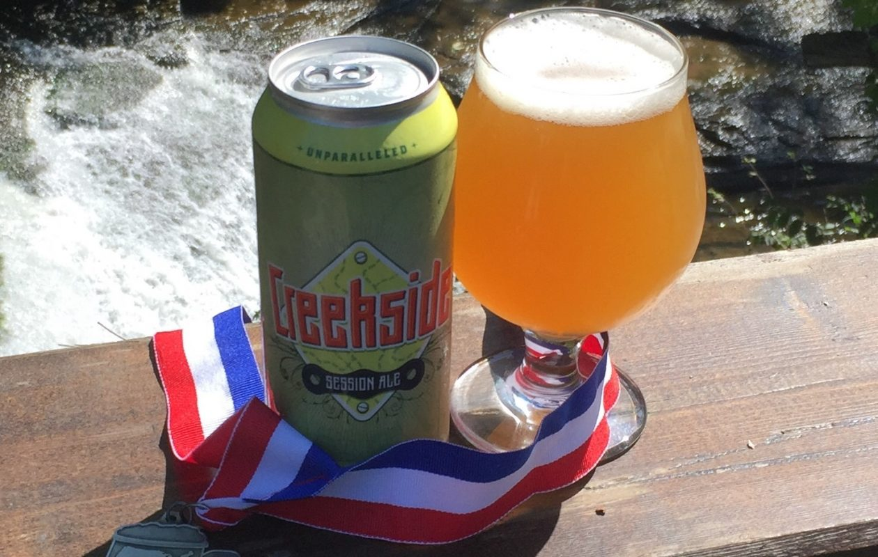 The Creekside Session Ale won an award at the U.S. Open Beer Championship. (via 42 North)