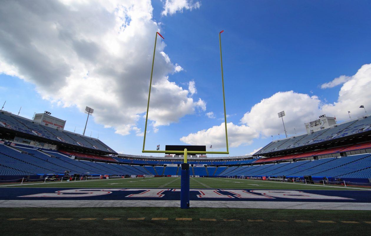 A sunny day at New Era Field. (Harry Scull Jr./Buffalo News)