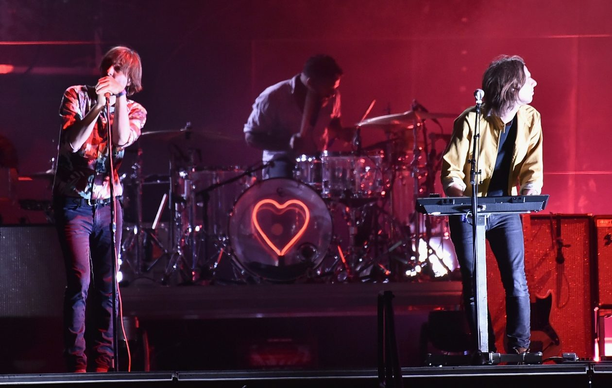 French band Phoenix will headline the debut of HRVST, a new music festival by 103.3 The Edge and After Dark Entertainment. (Steven Ferdman/Getty Images)