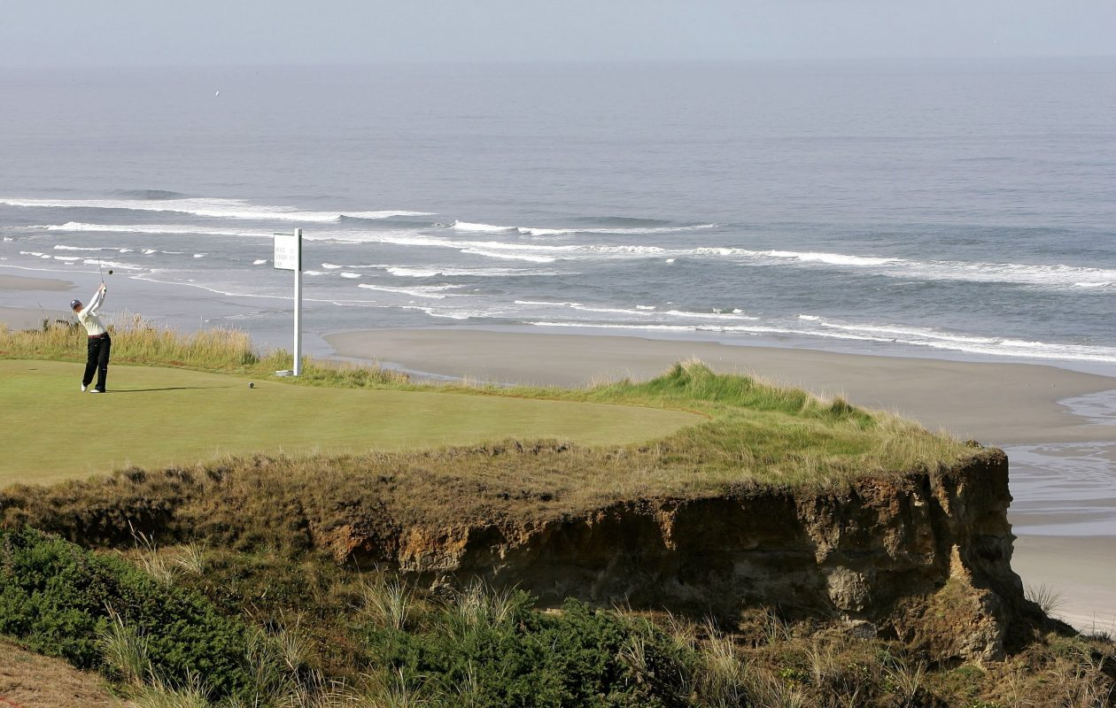 Mike Keiser's Pacific Dunes in Oregon is one of the greatest courses in the world. (Jonathan Ferrey/Getty Images)