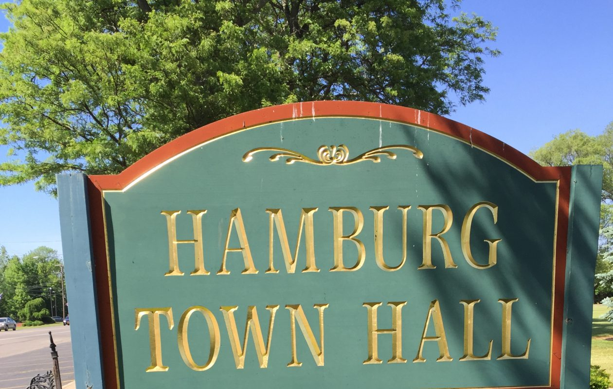 The Hamburg Town Board majority will switch from Democrat to Republican, who will make some changes in personnel.
