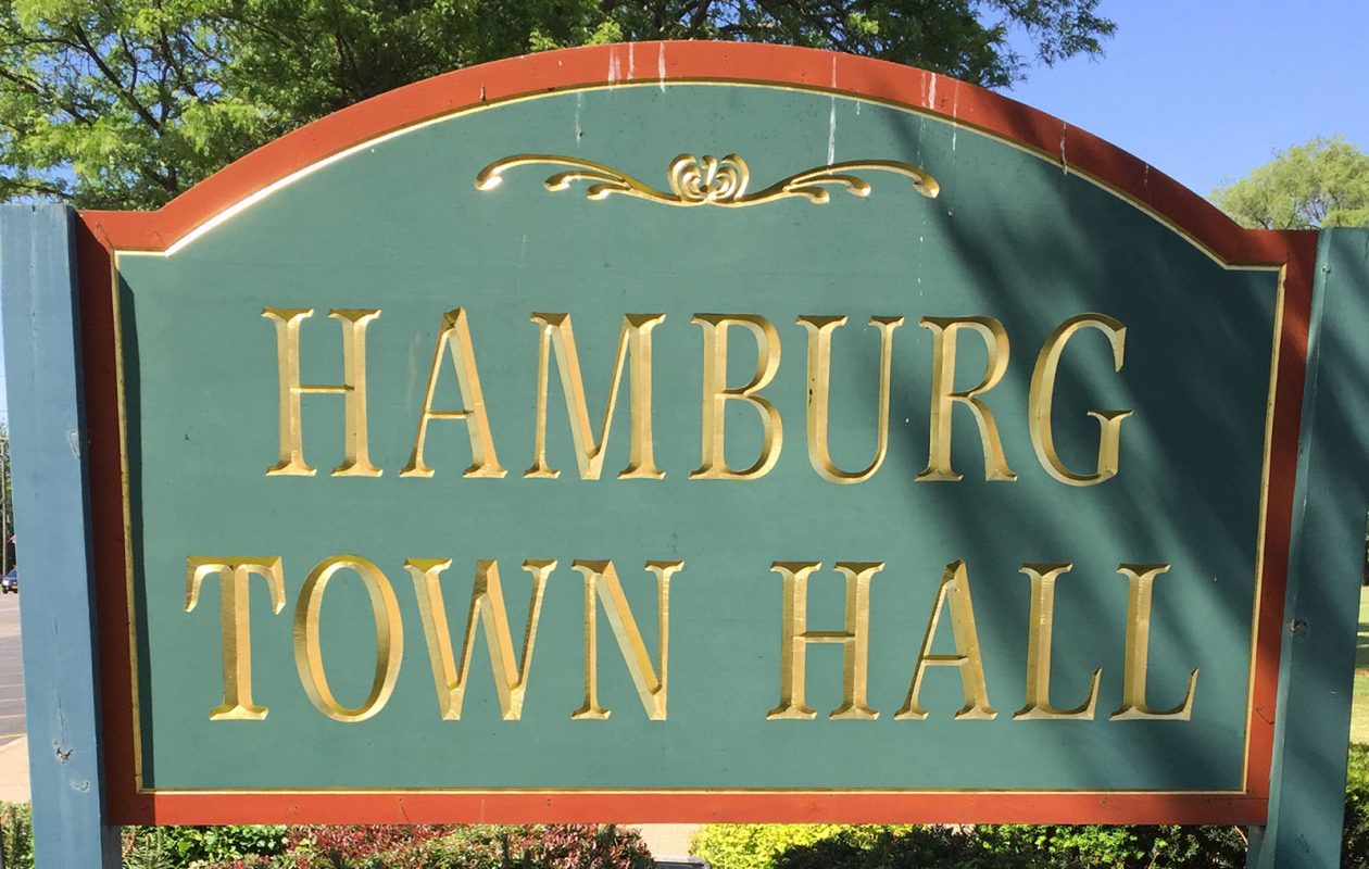 Hamburg is considering adding constables following an altercation outside the town's courtroom. (News file photo)