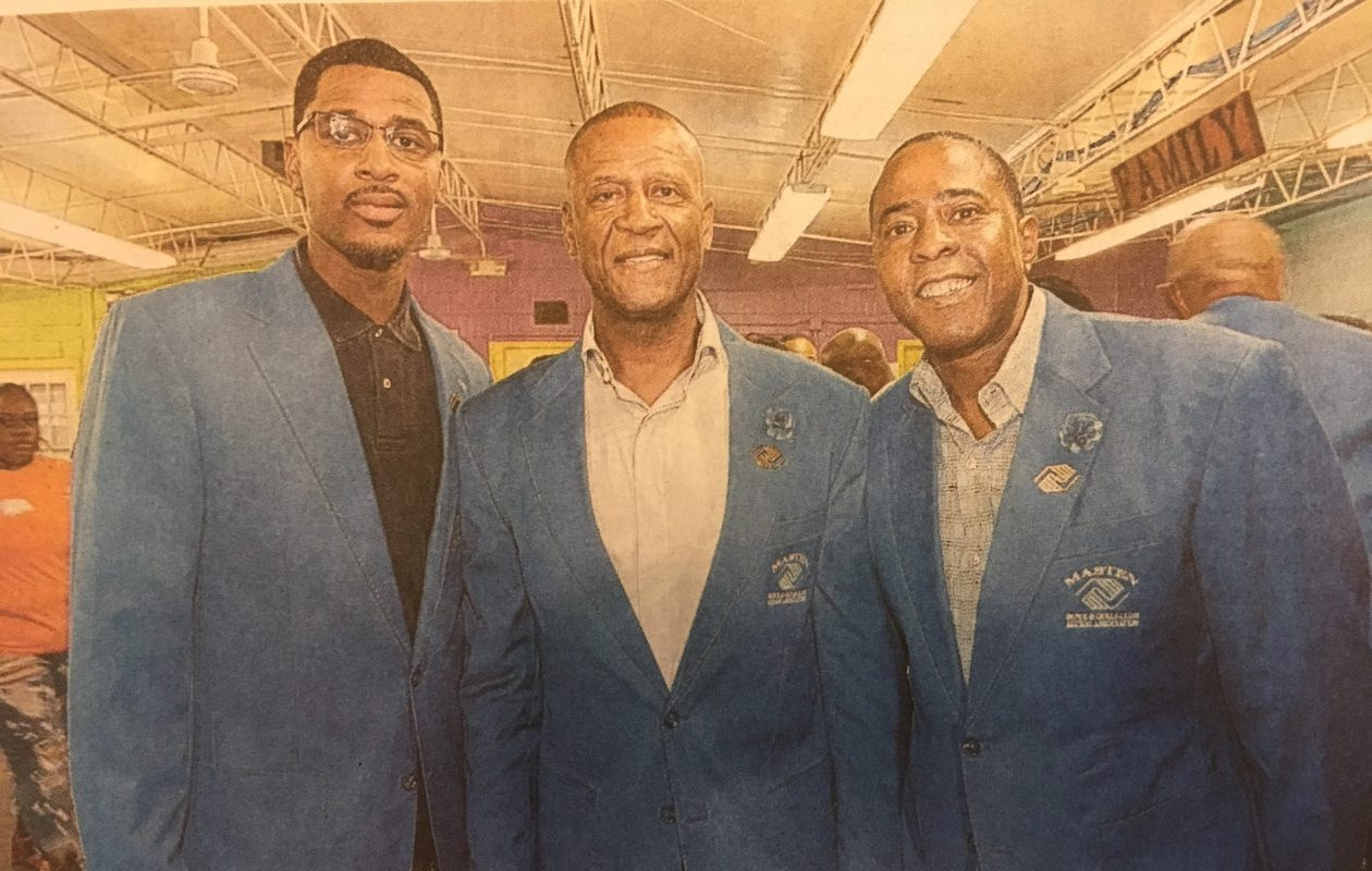 From left, Malik Campbell, Curtis Aiken and Tony Merriweather. (Buffalo News)