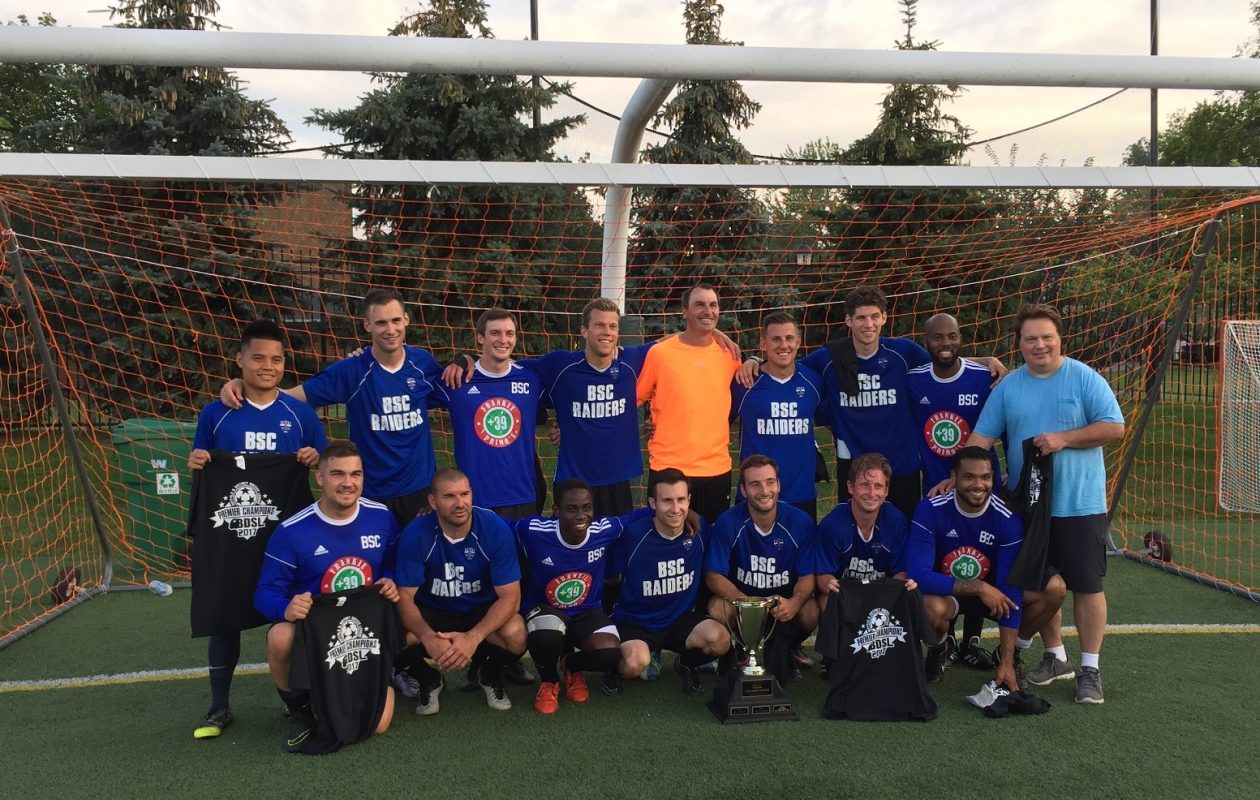 BDSL premier division champions BSC Raiders will bring a slightly different roster to Virginia. (Ben Tsujimoto/Buffalo News)