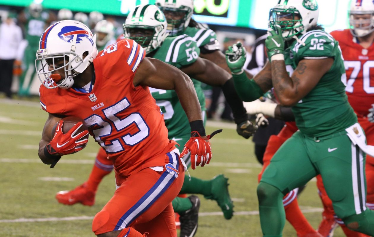 The Bills are hoping there will be plenty of breakaway runs by LeSean McCoy when they face the Jets this season. (Buffalo News file photo)