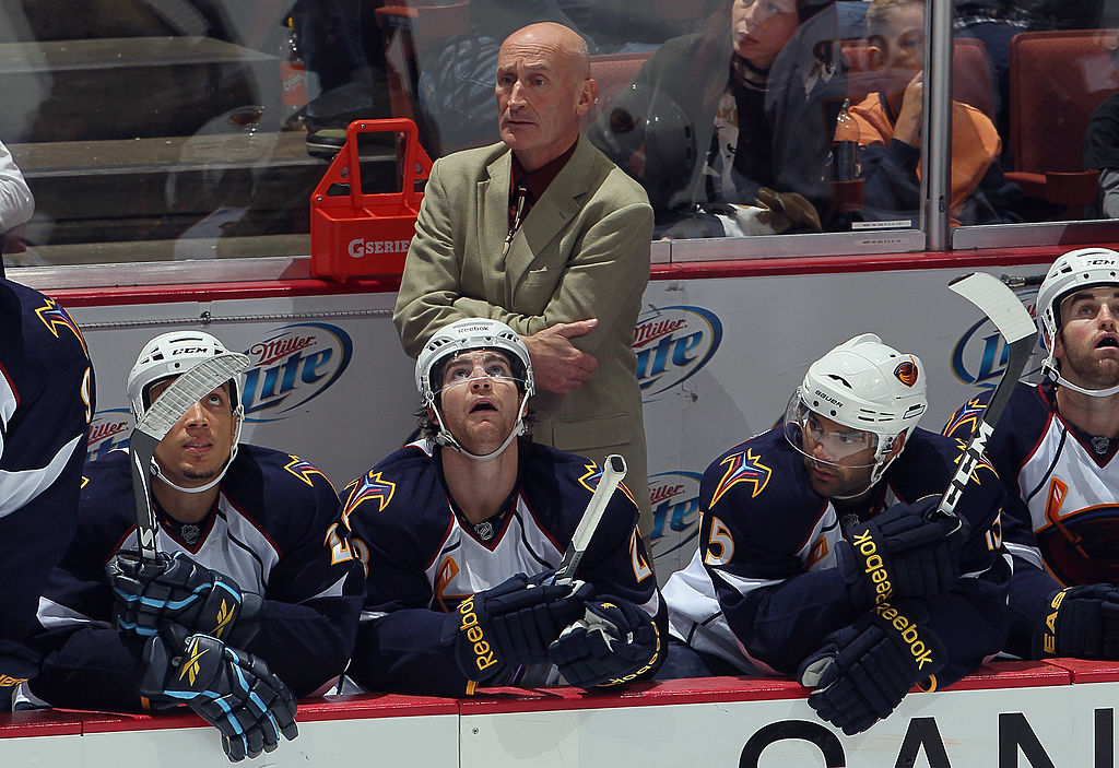 Craig Ramsays most recent head coaching job was in 2011 with the Atlanta Thrashers (Getty Images).
