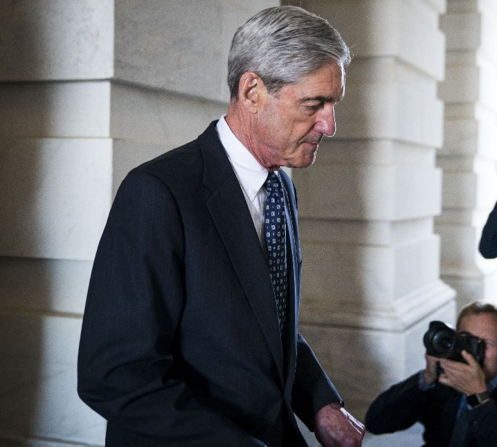Robert Mueller, the former FBI director and special counsel who is leading the Russia investigation, at the Capitol in Washington. (New York Times)
