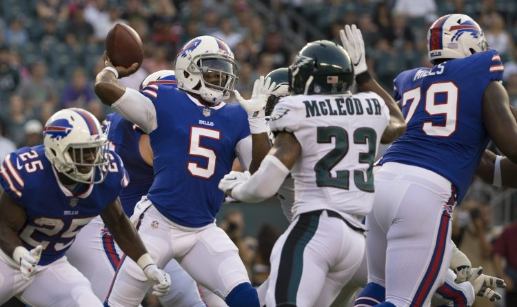 Insta-Graham: Tyrod Taylor wobbles in Philly, but fans should resist QB controversy urge