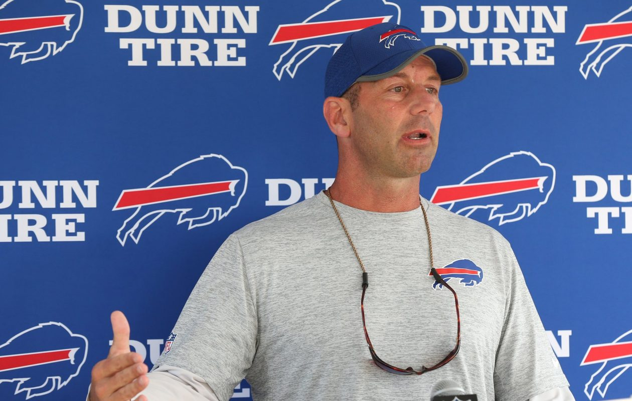 Bills special teams coordinator Danny Crossman has led a turnaround this season for his group. (James P. McCoy/Buffalo News)