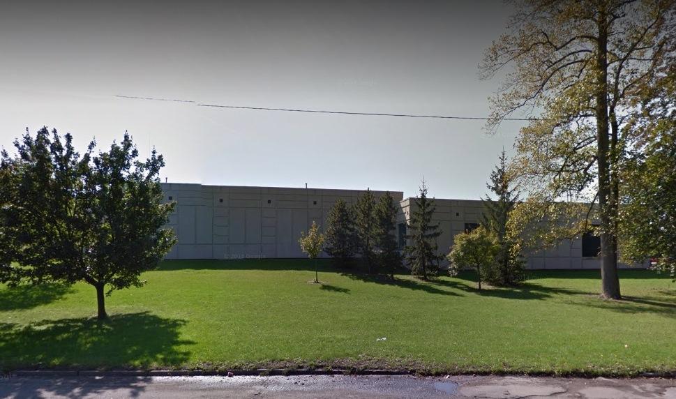 The Niagara Falls wastewater treatment plant on Buffalo Avenue. (Google image)