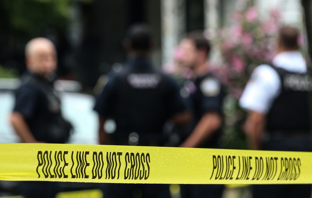 Buffalo police investigated a fatal shooting on Detroit Street on July 27. (Derek Gee/Buffalo News)