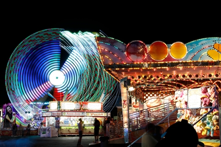 Opening Night at the Erie County Fair
