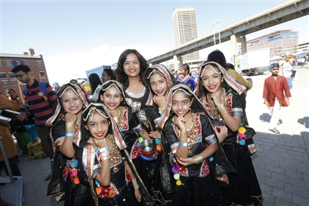 The Festival of India at Canalside