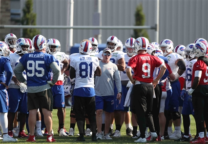 Bills Training Camp: Day 15 in pictures