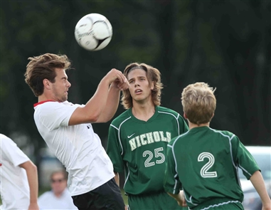 Boys soccer: Clarence, Nichols