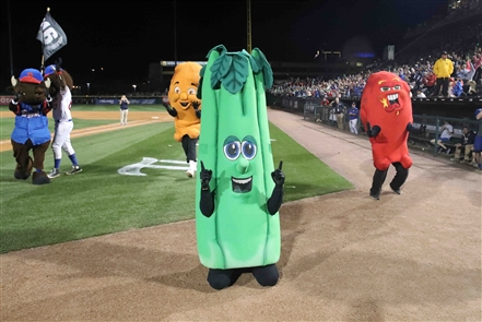 Coca-Cola Field turns 30 and Bisons Celery wins the race