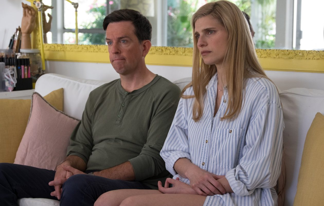"""Ed Helms and Lake Bell play a married couple with problems in """"I Do … Until I Don't."""" Bell also directed the film."""