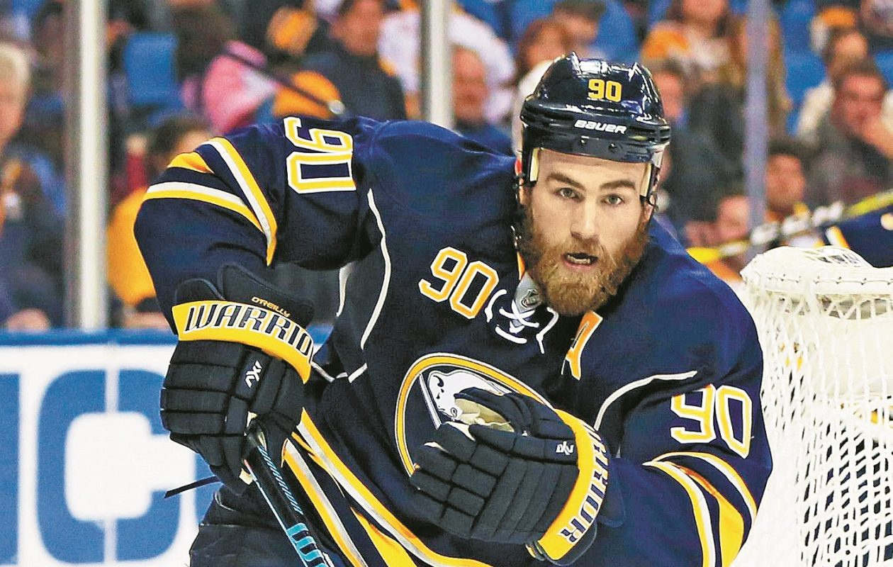 Ryan O'Reilly missed Saturday's game. (Harry Scull Jr./News file photo)