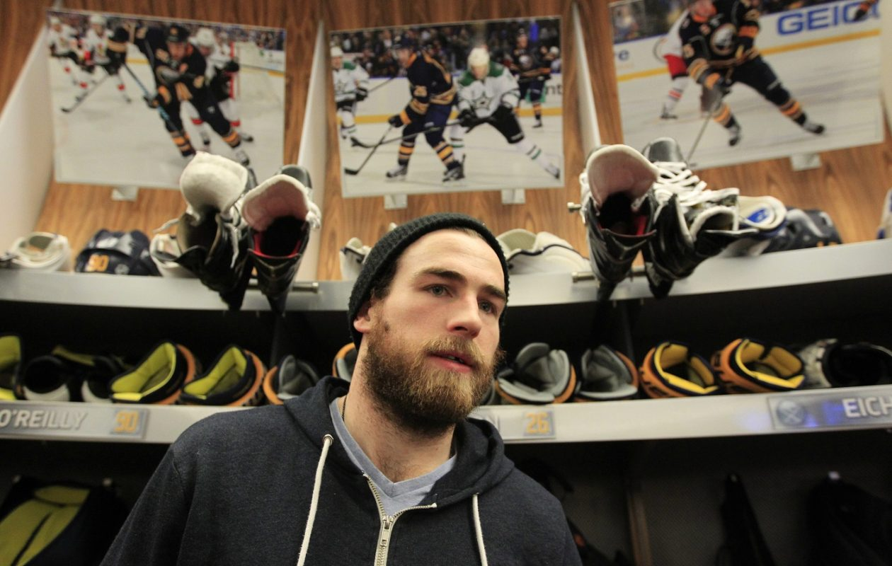 Ryan O'Reilly says the Sabres need to improve their communication with the coaching staff. (Harry Scull Jr./Buffalo News file photo)