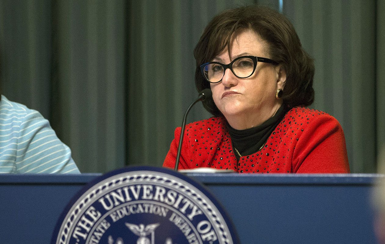 State Education Commissioner MaryEllen Elia presides at the State Education Building on Monday, June 26, 2017, Albany, N.Y. (Photo: Mike Groll) ©Mike Groll 2017