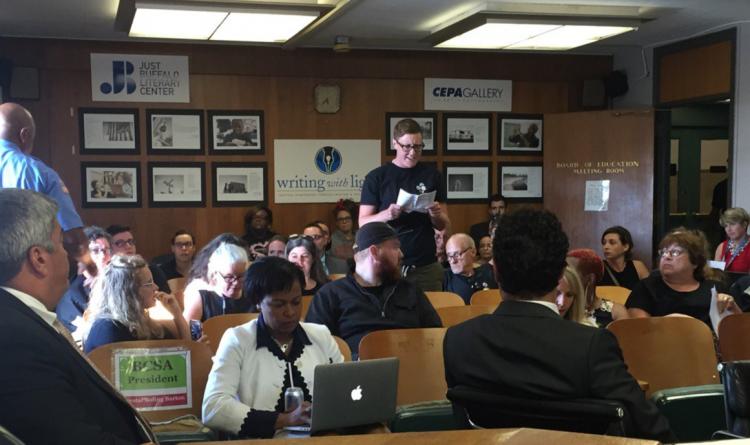 Paladino protesters stall Buffalo School Board meeting. Again.