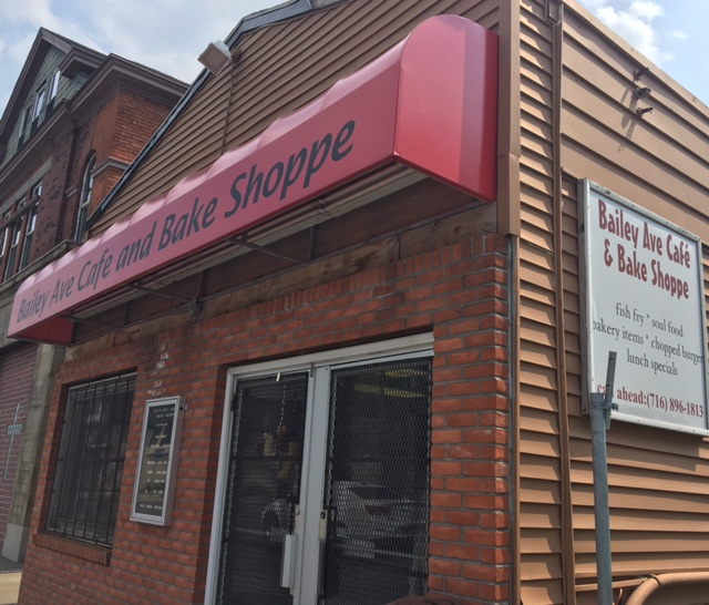 Bailey Avenue Cafe & Bake Shoppe before a car accident forced the restaurant to close earlier this month. It's uncertain if it will reopen.