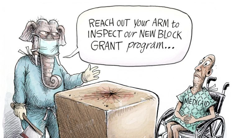 Adam Zyglis: Graham-Cassidy Bill