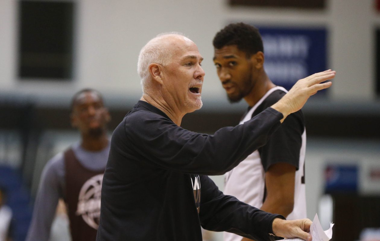 Bona men's basketball coach Mark Schmidt will be in Buffalo Sept. 21 with the school's Coaching Caravan.   (Mark Mulville/Buffalo News)