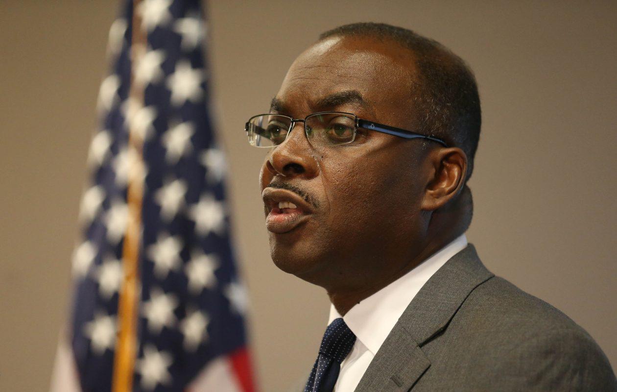 Mayor Byron Brown  is seeking a fourth term as Buffalo mayor. (News file photo)