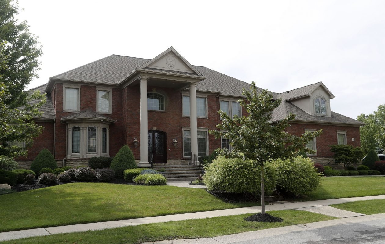 46 Da Vinci Court in Amherst is one of the highest assessed homes in the town. (Mark Mulville/Buffalo News