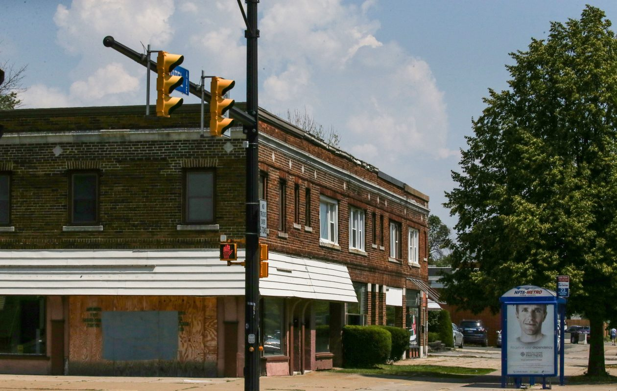 The corner of Hertel and Starin avenues, the site of a proposed expansion of Dash's Market.  (Derek Gee/Buffalo News file photo)