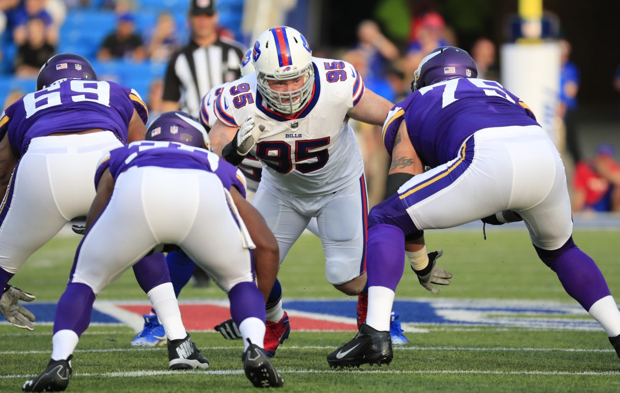 The Bills' Kyle Williams does not want to hear the work 'tank.' (Harry Scull Jr./Buffalo News file photo)