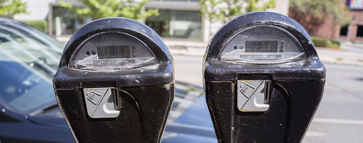 You're less likely to get a ticket in the East Side or South Buffalo, primarily because those areas don't have parking meters. (Derek Gee/Buffalo News)