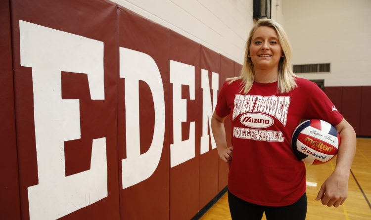 Passing of the torch: Hailee Herc ready to take on challenge as Eden's new girls volleyball coach