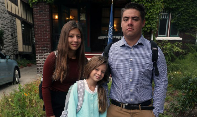 3 kids from Texas find refuge from hurricane in Buffalo