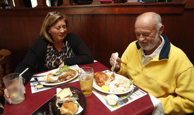 At Connor's, colorful stories go with the food and drink