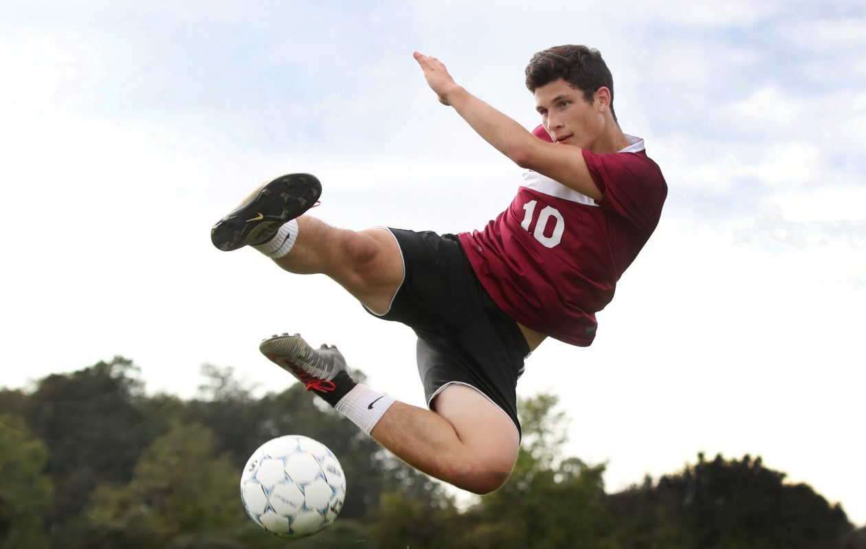 Starpoint's boys soccer player Max Balko is our Prep Talk Male Athlete of the Week. (James P. McCoy/Buffalo News)