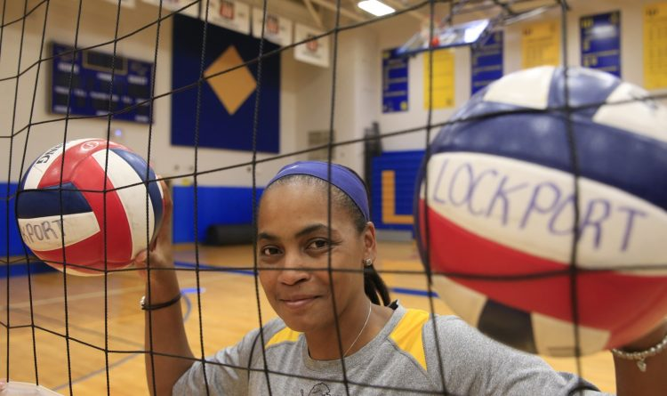Lockport boys volleyball: No. 1 in Western New York, and she's the coach