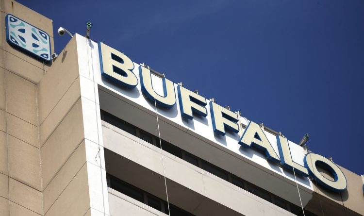 Beige is out, blue is in as Buffalo General gets a facelift