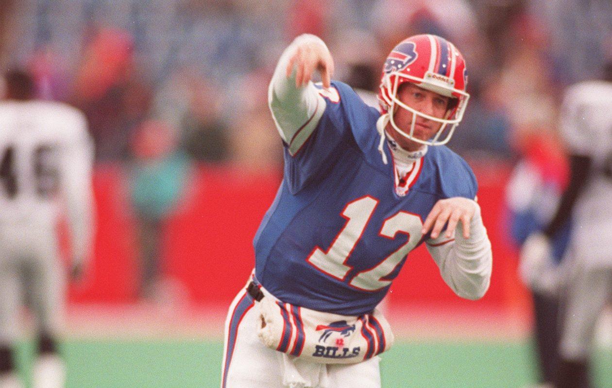 Buffalo Bills quarterback Jim Kelly. (Buffalo News file photo)