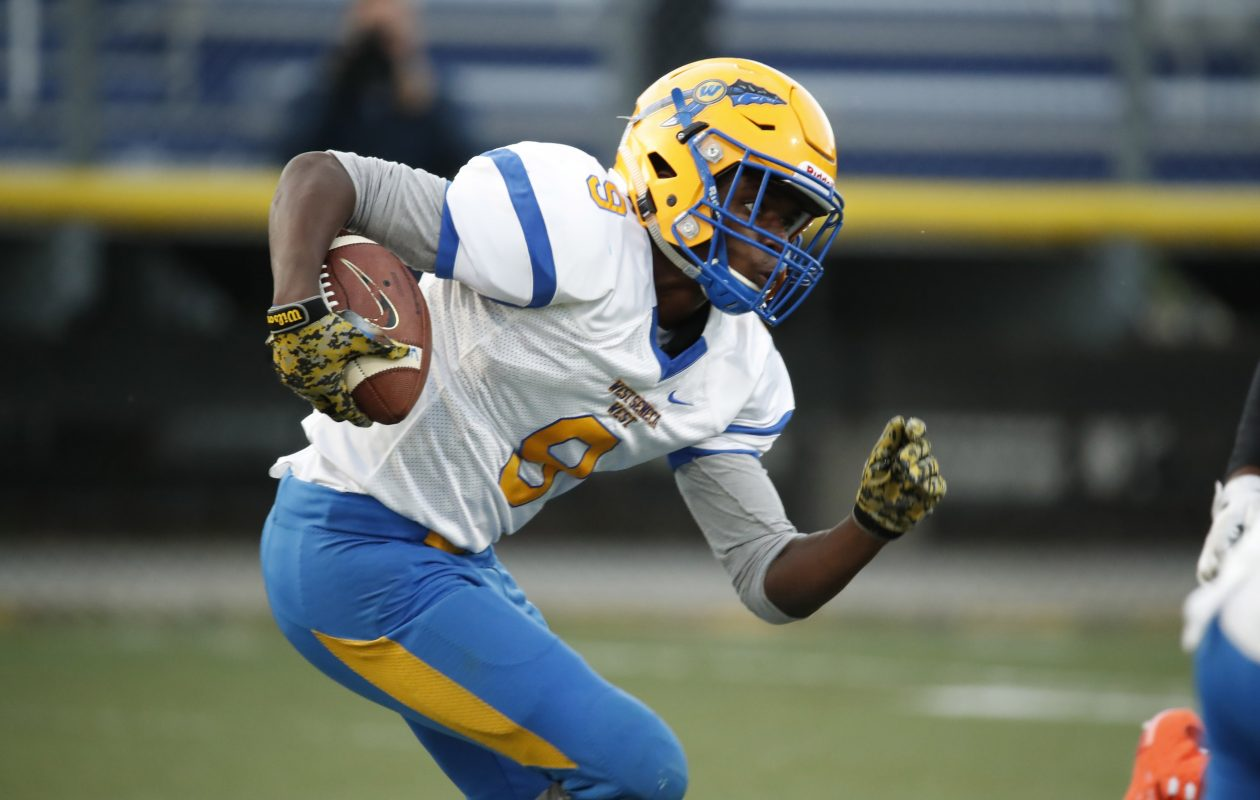 Bryan Ball of undefeated West Seneca West will lead his team against Iroquois on Friday night in Class A South Federation football play.