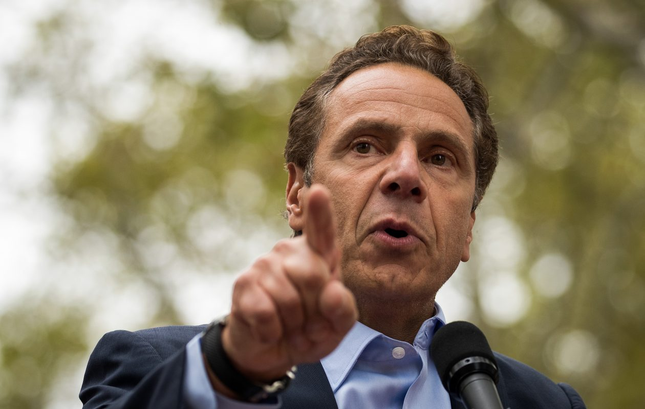 "Pulling out of the 2015 Paris environmental accord has helped make the Trump administration ""the most ignorant"" ever on climate change, Gov.  Andrew Cuomo said Wednesday. (Getty Images file photo)"