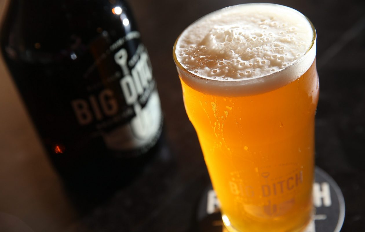 Big Ditch Brewing Company beer will be among a dozen regional craft brews featured in the new Whole Foods 1818 taproom. (Sharon Cantillon/Buffalo News file photo)